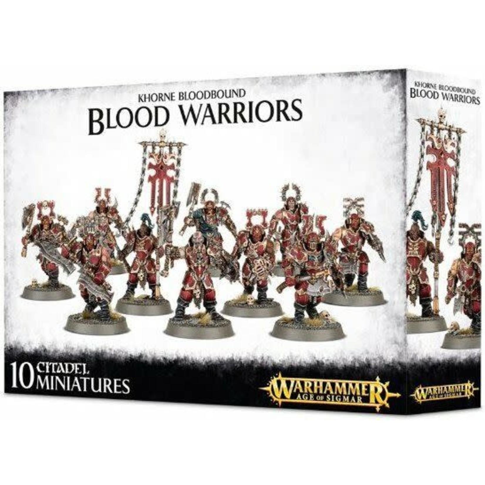 Games Workshop Warhammer Age of Sigmar: Khorne Bloodbound: Blood Warriors