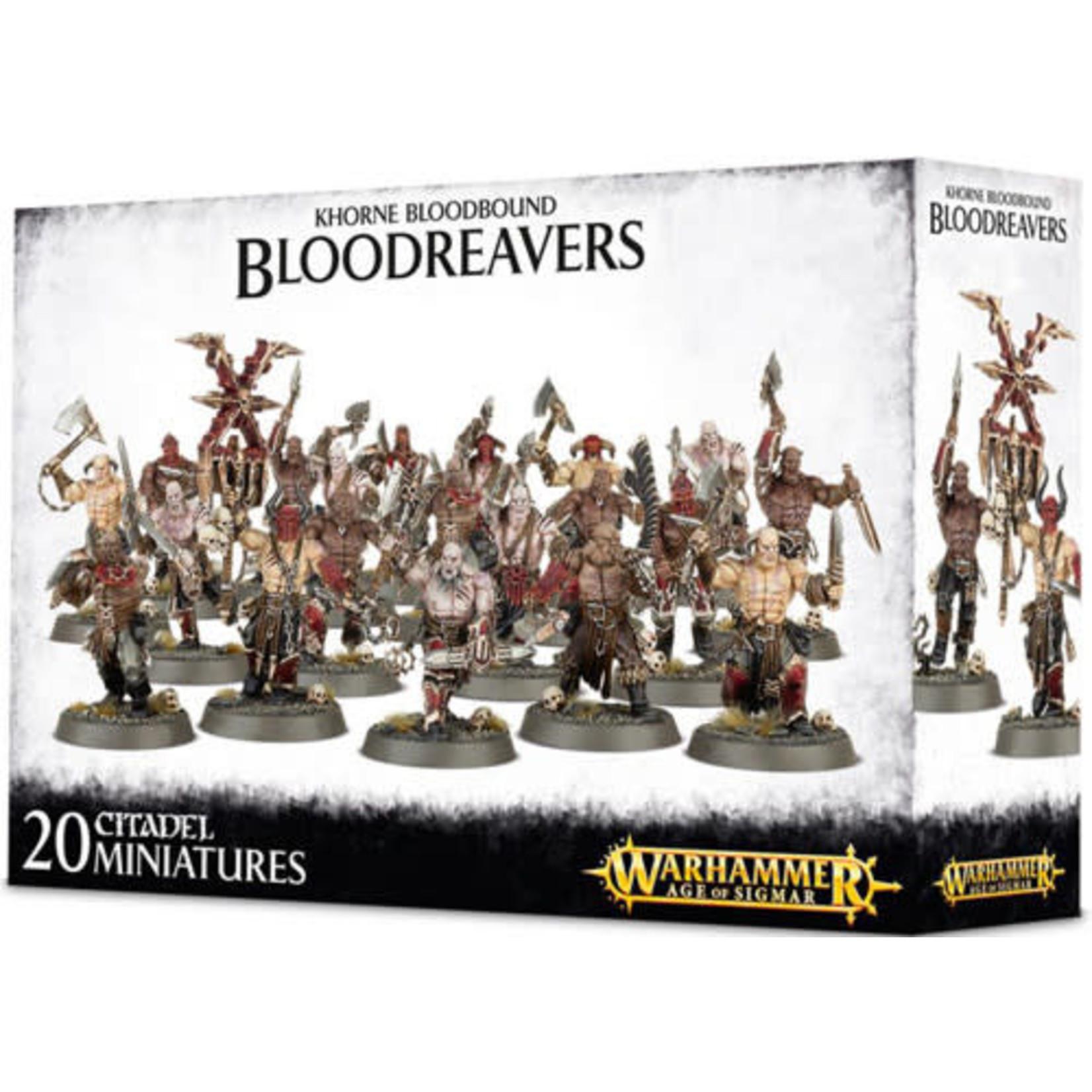 Games Workshop Warhammer Age of Sigmar: Khorne Bloodbound Bloodreavers