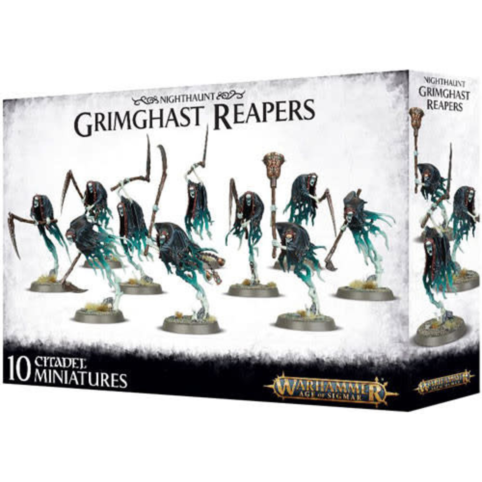 Games Workshop Warhammer AoS: Nighthaunt Grimghast Reapers