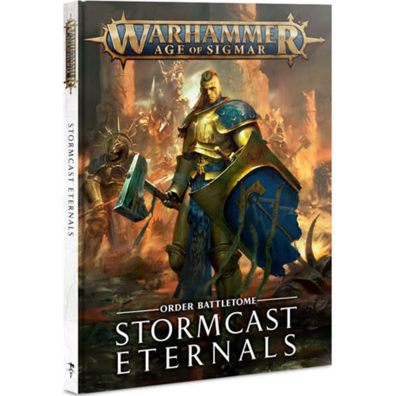 Games Workshop Warhammer Age of Sigmar: Battletome - Stormcast Eternals