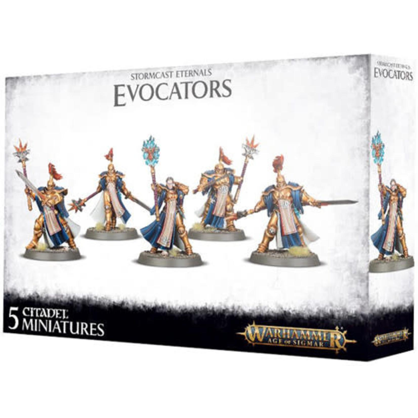 Games Workshop Warhammer Age of Sigmar: Stormcast Eternals Evocators