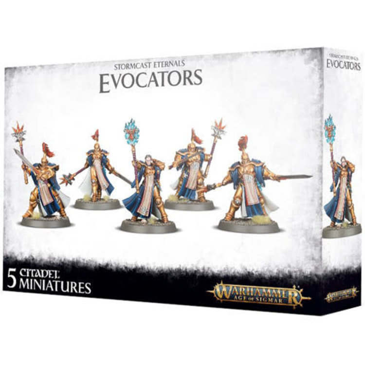 Games Workshop Warhammer Age of Sigmar: Stormcast Eternals Evocators