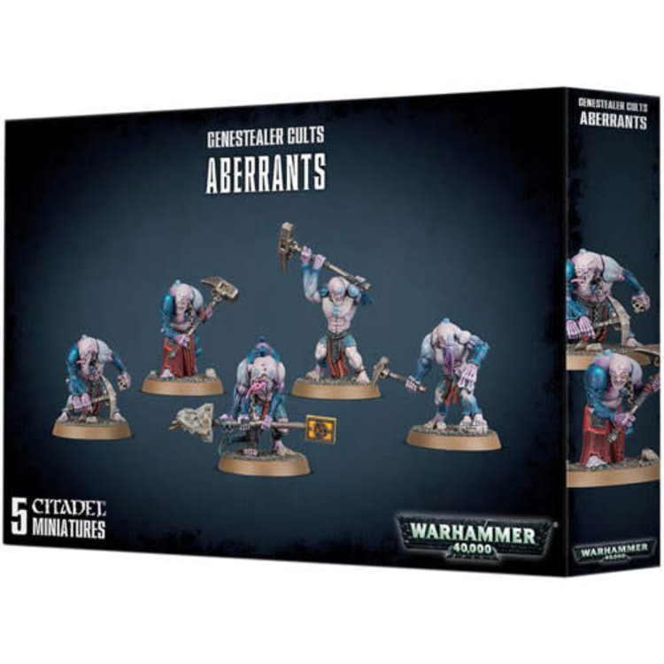 Games Workshop Warhammer 40k: Genestealer Cults Aberrants