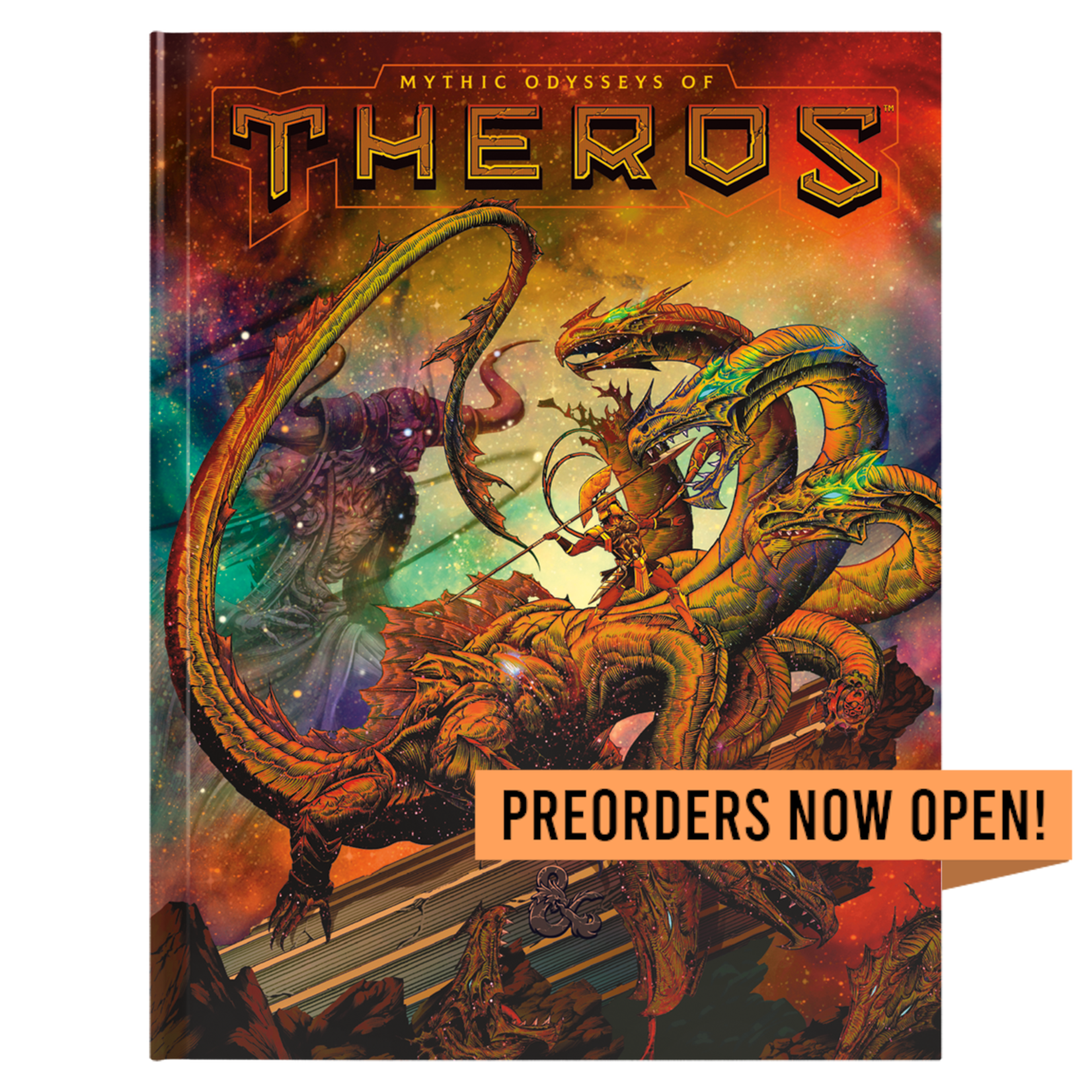 Wizards of the Coast Dungeons and Dragons Fifth Edition: Mythic Odysseys of Theros (Limited Cover)