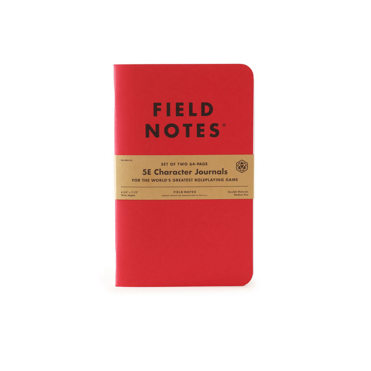 Field Notes Field Notes: 5th Edition Character Journal