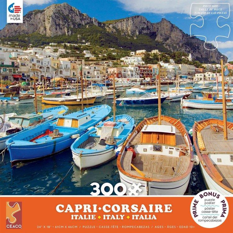 ceaco Ceaco - 300 Piece Puzzle (Oversized Pieices): Scenic Photography - Capri
