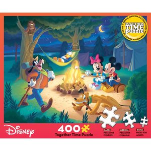 ceaco Ceaco - 400 Piece Puzzle: Together Time - Disney Campfire