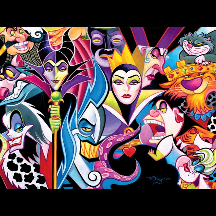 ceaco Ceaco - 1500 Piece Puzzle: Disney Villains