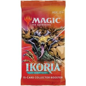 Wizards of the Coast Magic the Gathering - Ikoria : Collectors Booster Pack (Online)