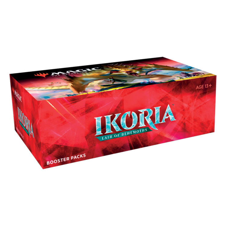 Wizards of the Coast Magic the Gathering: Ikoria Draft Booster Box (Online)