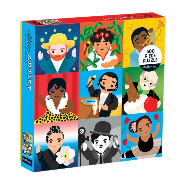 Mudpuppy Mudpuppy - 500 Piece Puzzle: Little Artist
