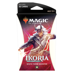 Wizards of the Coast Magic the Gathering: Ikoria Theme Booster - White