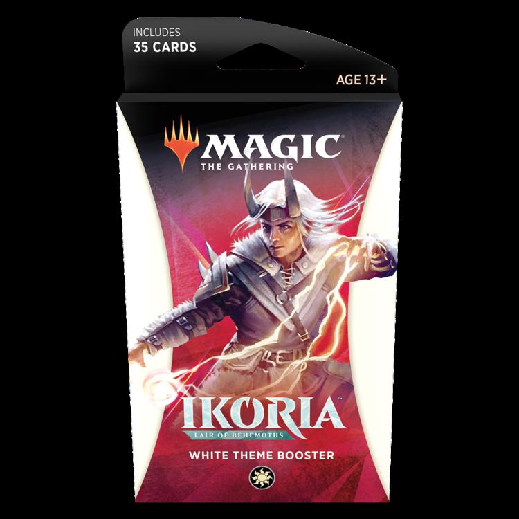 Wizards of the Coast MTG Ikoria Theme Booster - White