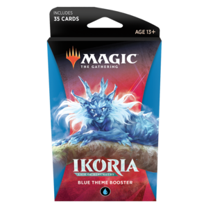 Wizards of the Coast MTG Ikoria Theme Booster - Blue