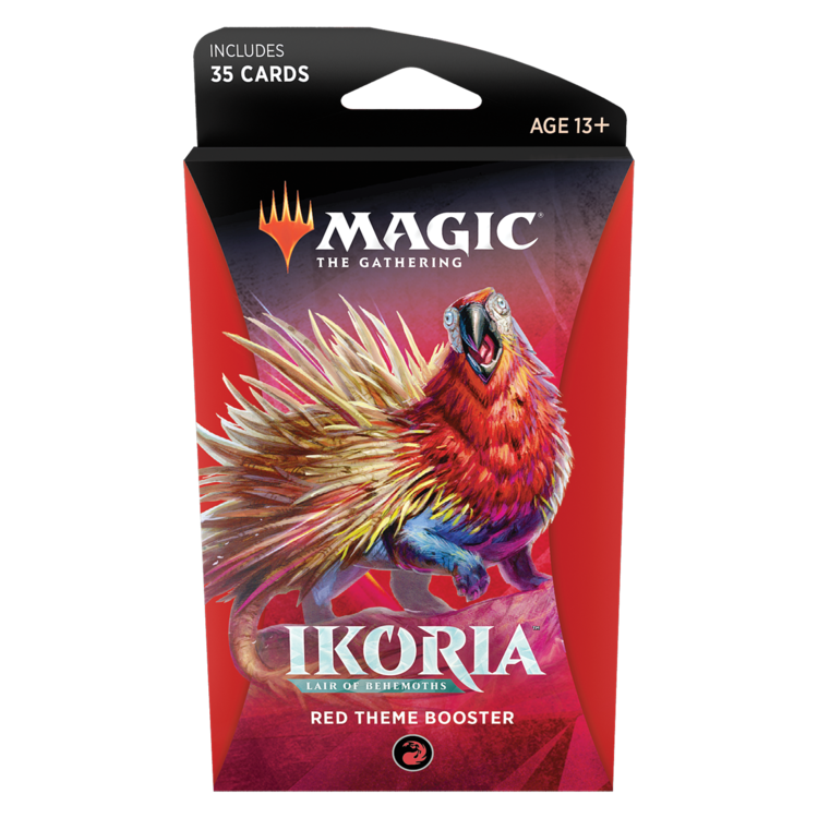 Wizards of the Coast MTG Ikoria Theme Booster - Red