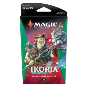 Wizards of the Coast Magic the Gathering: Ikoria Theme Booster - Green