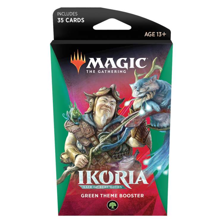 Wizards of the Coast MTG Ikoria Theme Booster - Green