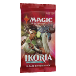 Wizards of the Coast Magic the Gathering: Ikoria Draft Booster Pack (Online)