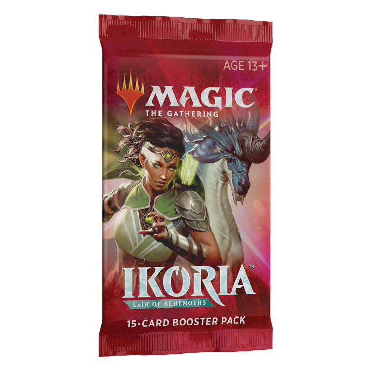 Wizards of the Coast MTG Ikoria Draft Booster Pack (Online)