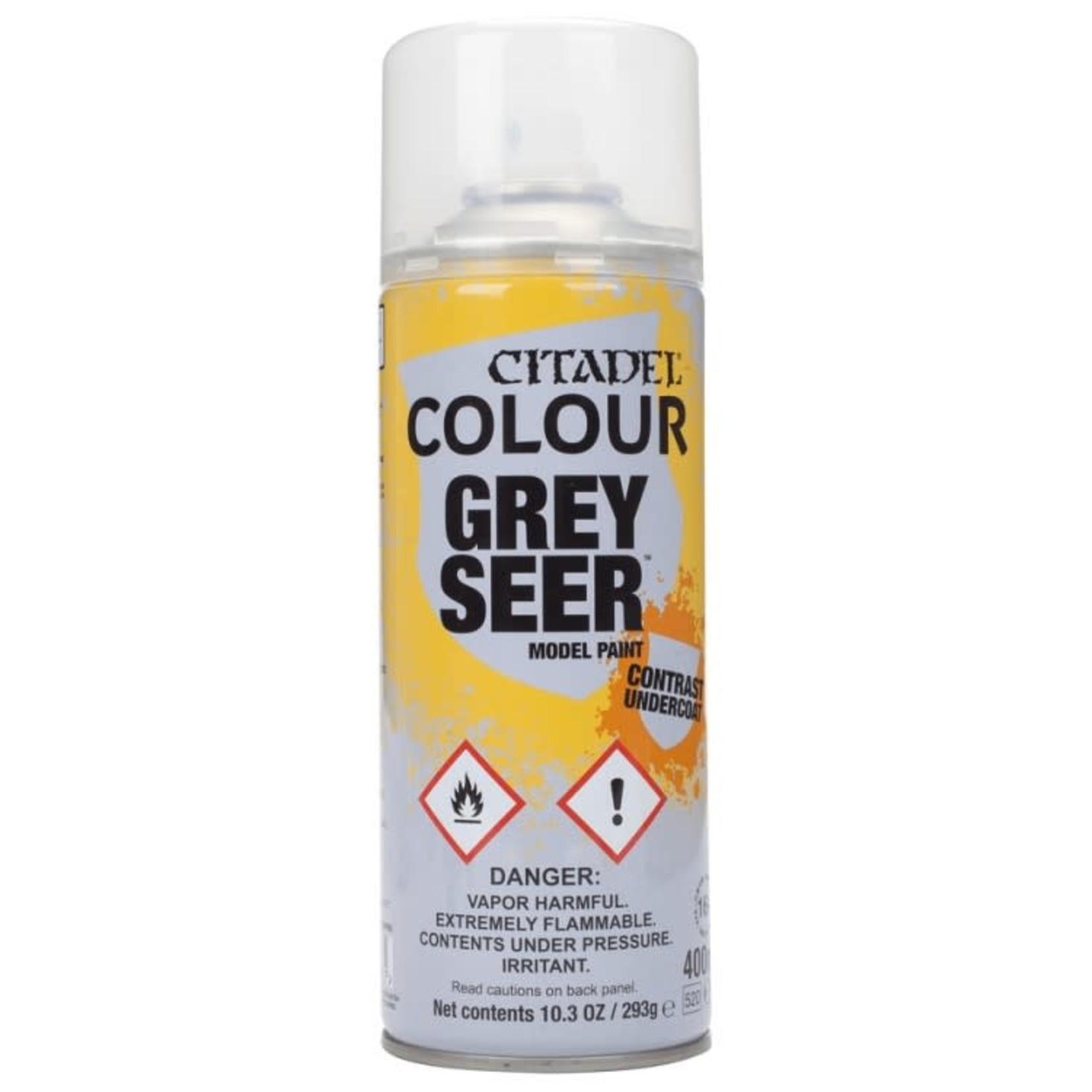 Citadel Citadel Paint - Spray Primer: Grey Seer (Contrast Undercoat)