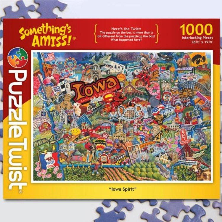 Puzzle Twist Puzzle Twist - 1000 Piece Puzzle: Iowa Spirit