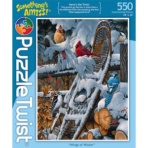 Puzzle Twist Puzzle Twist - 550 Piece Puzzle: Wings of Winter