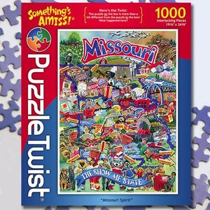 Puzzle Twist Puzzle Twist - 1000 Piece Puzzle: Missouri Spirit