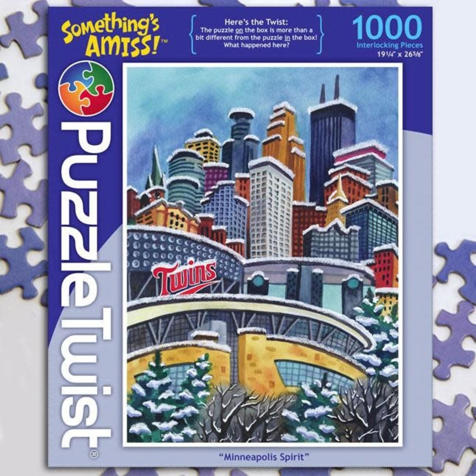 Puzzle Twist Puzzle Twist - 1000 Piece Puzzle: Minneapolis Spirit