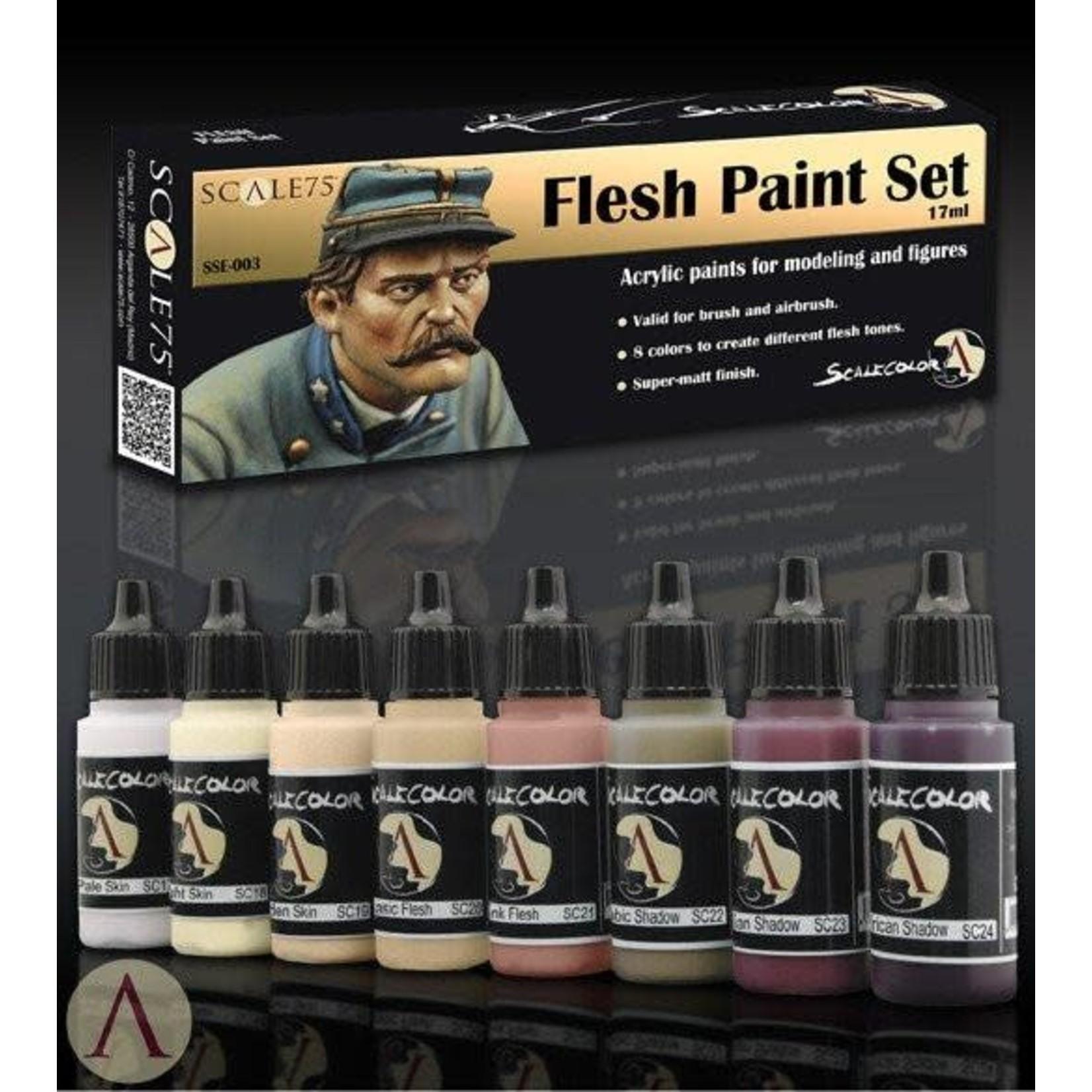 Scale75 Scale75: Flesh Paint Set