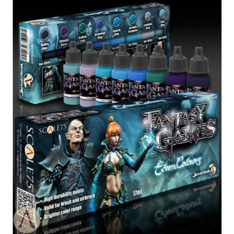 Scale75 Scale75: Elven Colors Paint Set