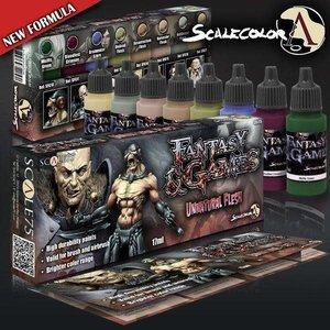 Scale75 Scale75: Unnatural Flesh Paint Set