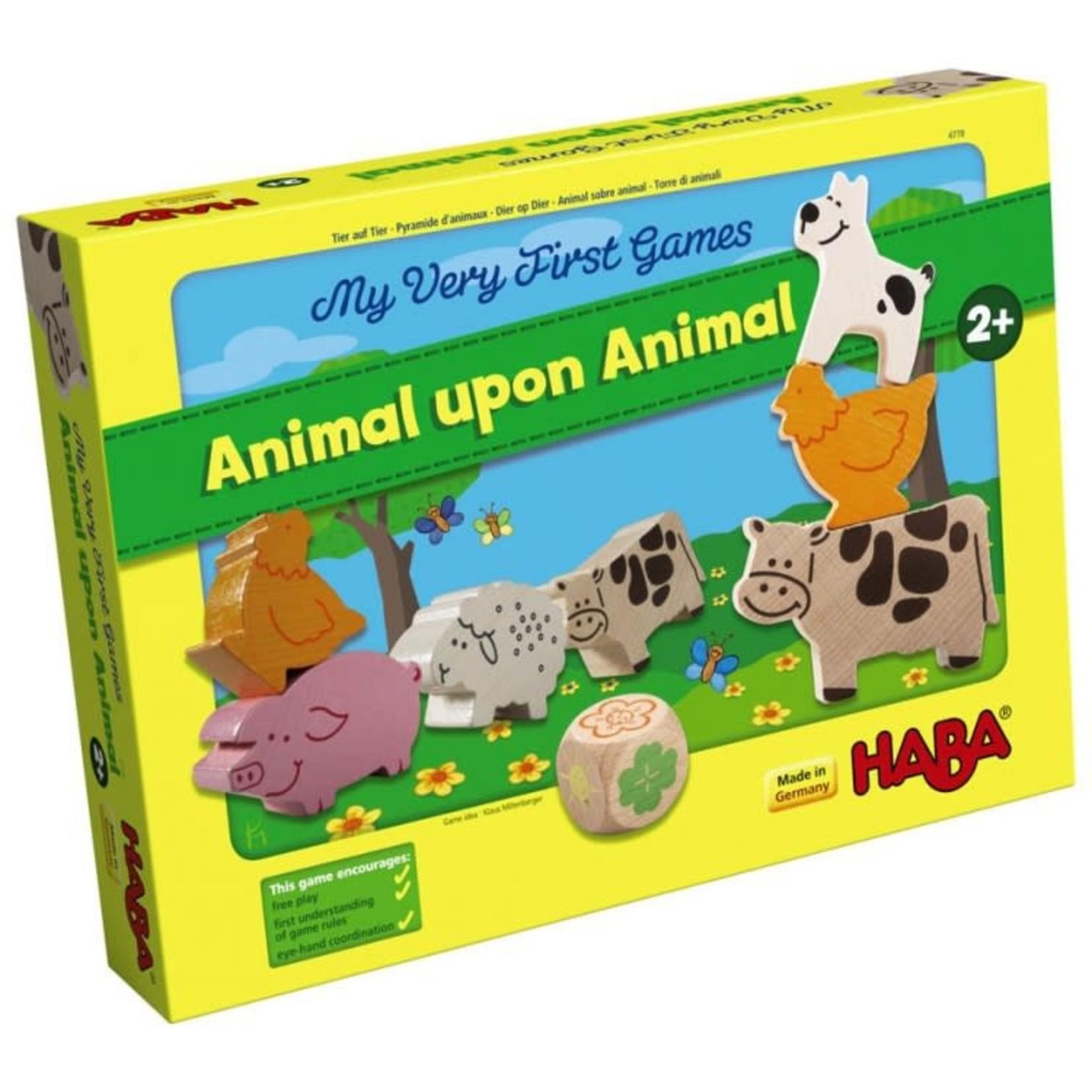 Haba My Very First Game: Animal upon Animal