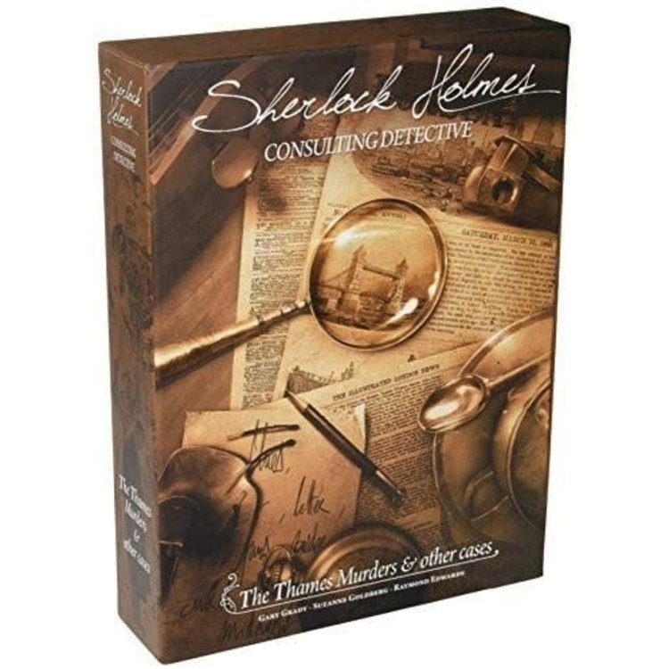 Asmodee Editions Sherlock Holmes: Thames Murders
