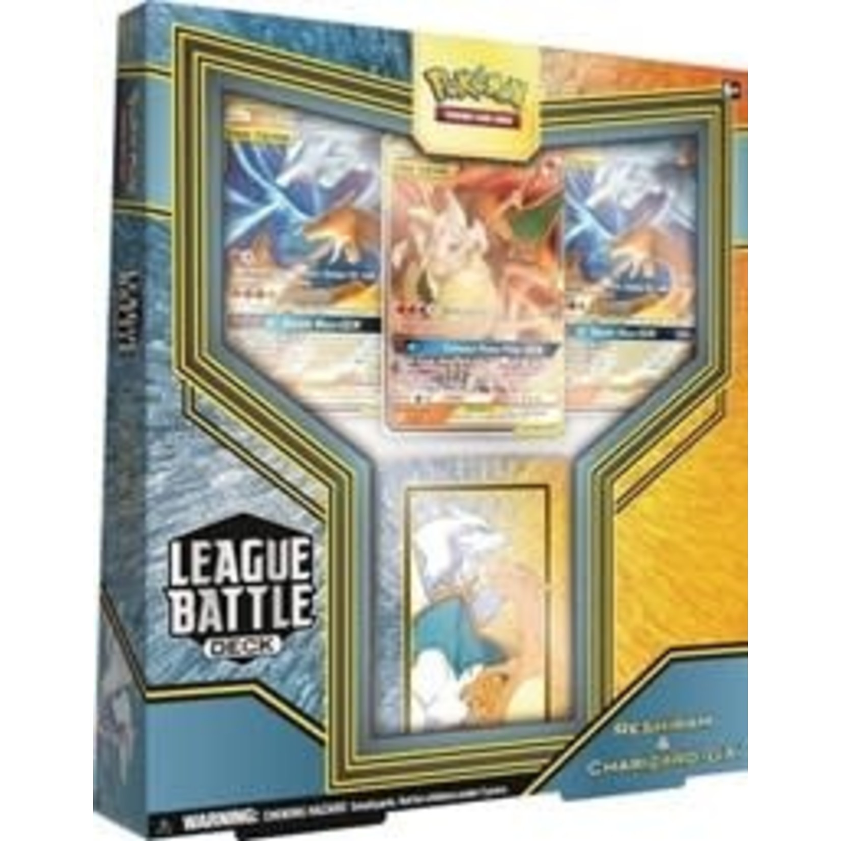 Pokemon International Pokemon League Battle Deck : Reshiram & Charizard GX