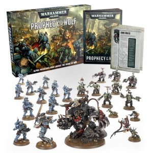 Games Workshop Warhammer 40k: Prophecy of the Wolf