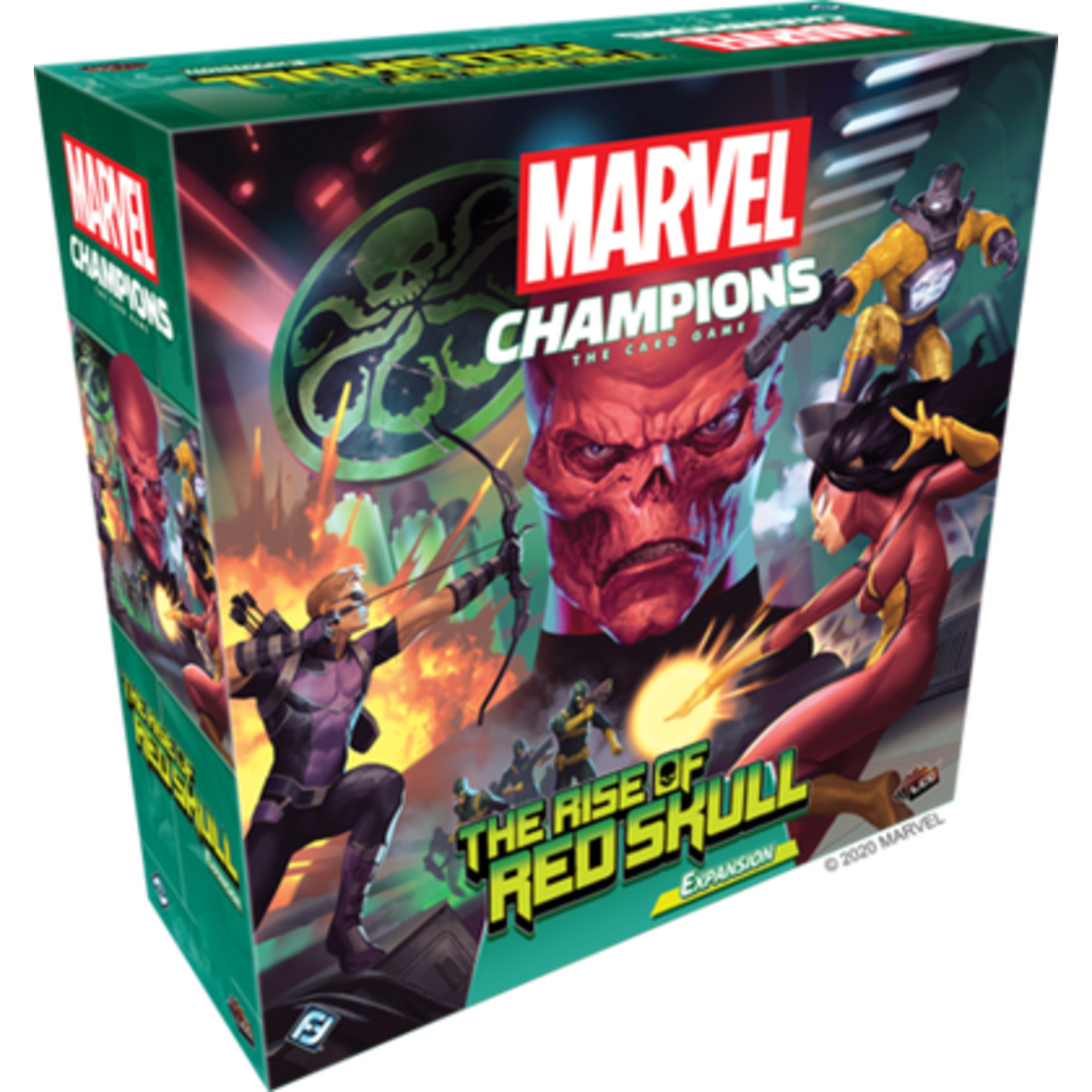 Marvel Champions Living Card Game: The Rise of Red Skull