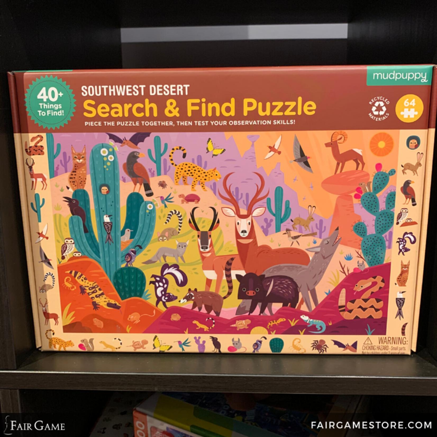 Mudpuppy Mudpuppy: 64 Piece Puzzle - Search and Find: Southwest Desert