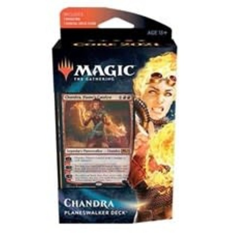 Wizards of the Coast Magic the Gathering - Core 2021: Planeswalker Deck - Chandra