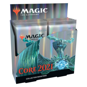 Wizards of the Coast Magic the Gathering - Core 2021 : Collectors Booster Box