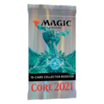 Wizards of the Coast Magic the Gathering - Core 2021 : Collectors Booster Pack (Online)