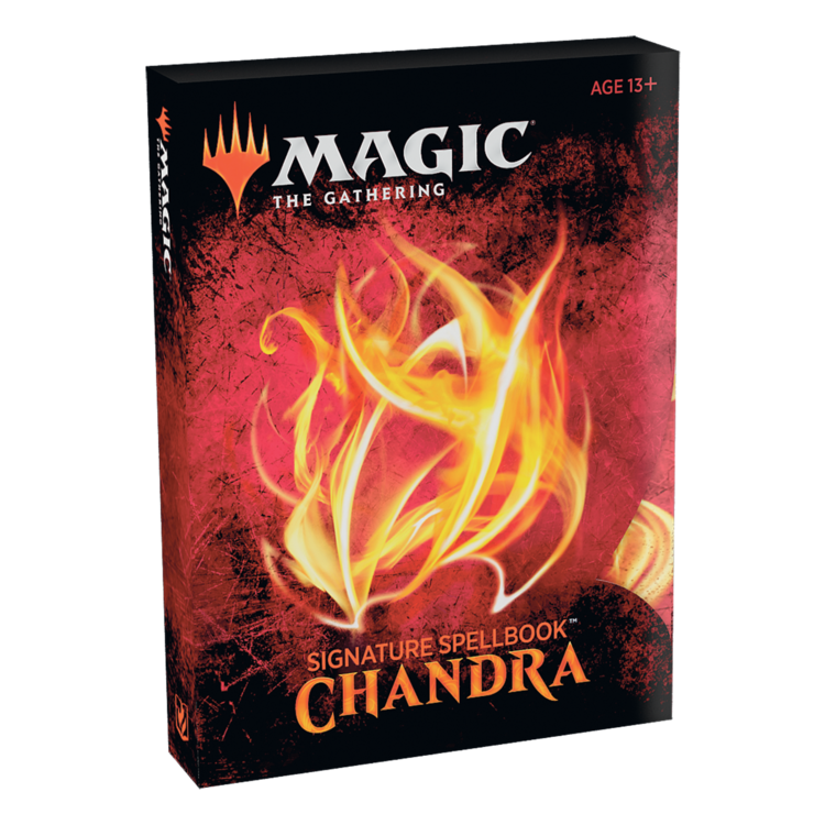 Wizards of the Coast Magic the Gathering - Signature Spellbook: Chandra