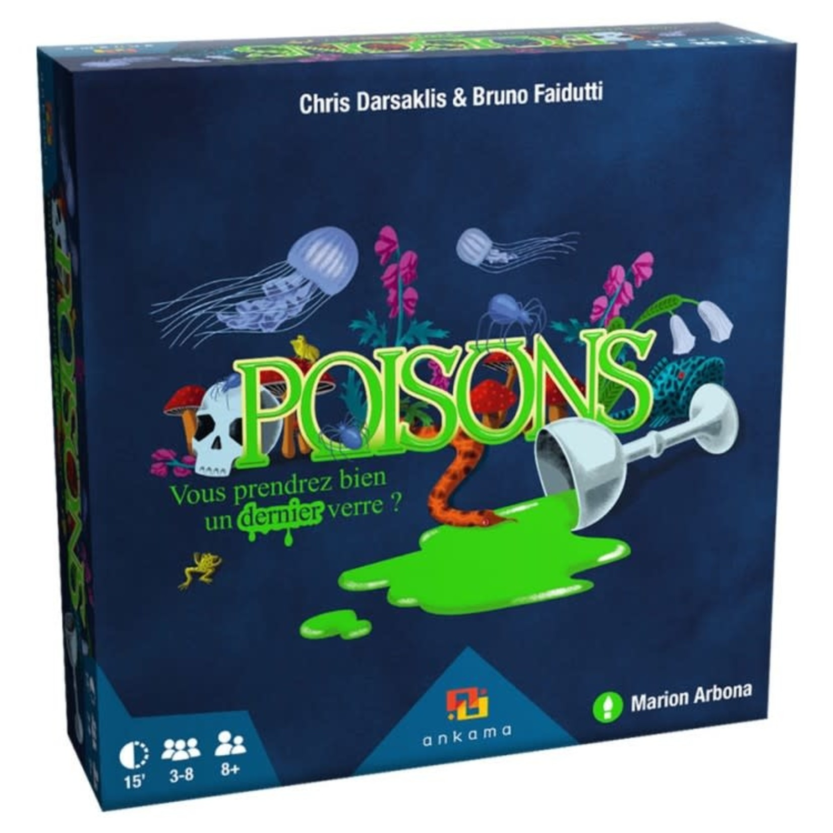 Ankama Board Games Poisons