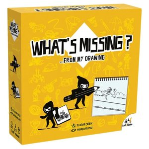 Asmodee Editions What's Missing?