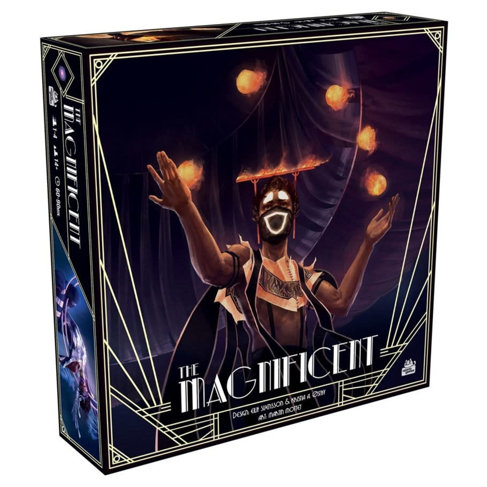 Asmodee Editions The Magnificent