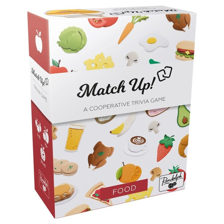 Asmodee Editions Match Up! Food
