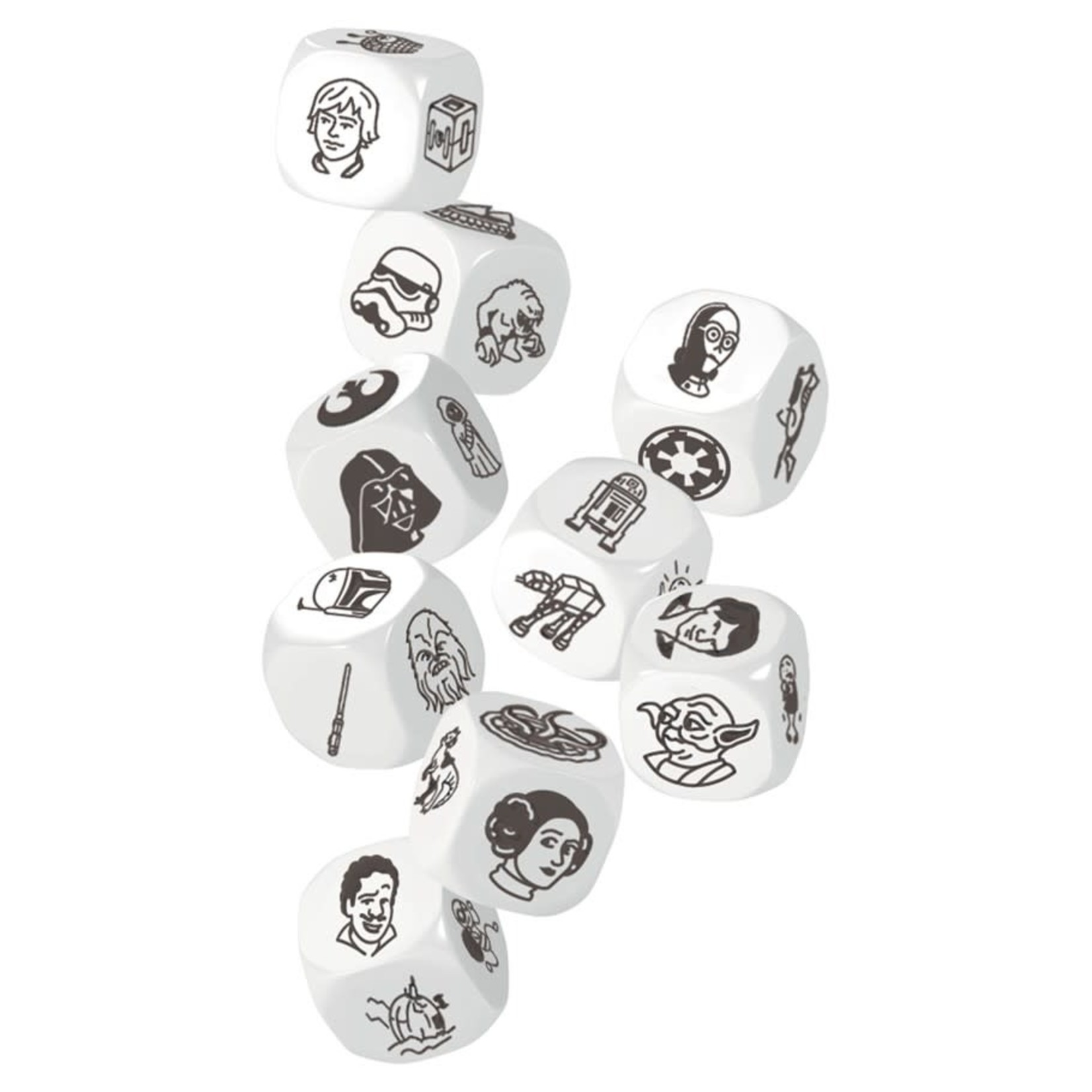 Asmodee Editions Rory's Story Cubes: Star Wars