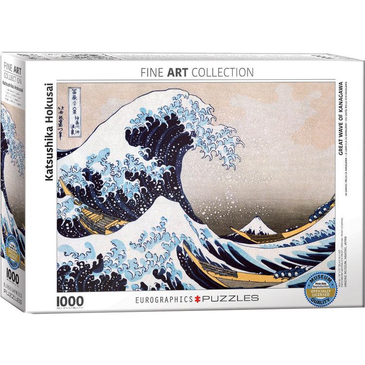 Eurographics Eurographics Puzzle: Great Wave off Kanagawa - 1000pc