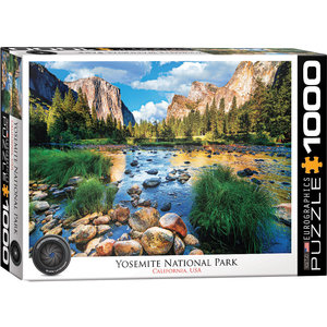 Eurographics Eurographics Puzzle: Yosemite National Park California - 1000pc