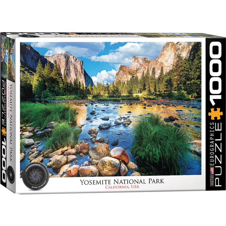 Eurographics Eurographics Puzzle: Yosemite National Park California - 1000pc