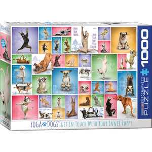 Eurographics Eurographics Puzzle: Yoga Dogs - 1000pc